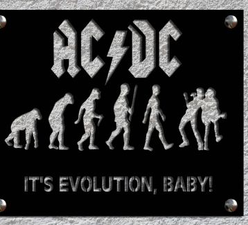 ACDC Metal Tablo
