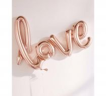 Love Balon Rose Gold