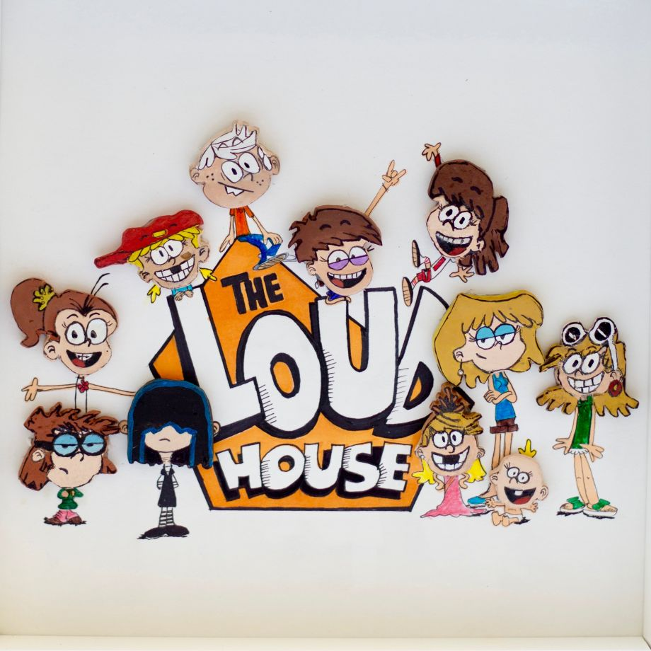 Taş Tablo - The Loud House