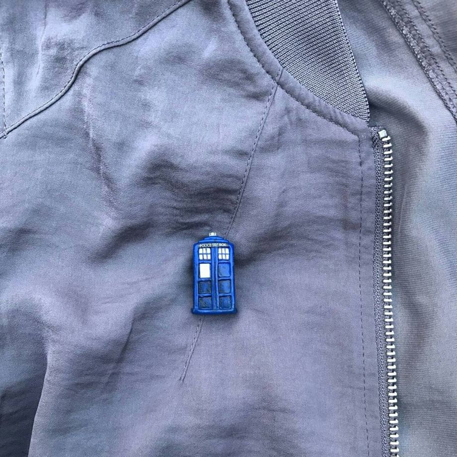 Doctor Who-Tardis Broş