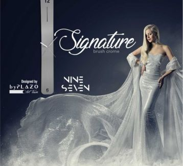 Nine Seven Signature Brush Crome