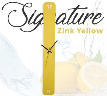 Nine Seven Signature Zink Yellow