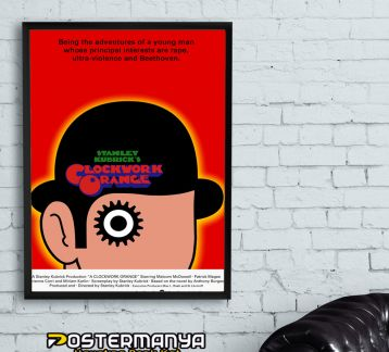 Clockwork Orange - Otomatik Portakal - Tablo & Poster 4