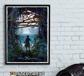 Pirates Of The Caribbean-Karayip Korsanları Tablo & Poster 3