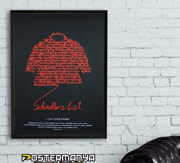 Schindler's List - Schindler'in Listesi Tablo & Poster