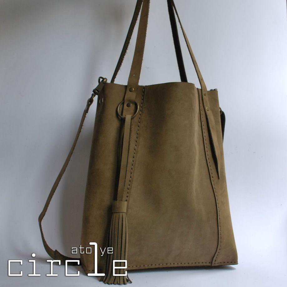 Circle Tote Bag - Atolye Circle