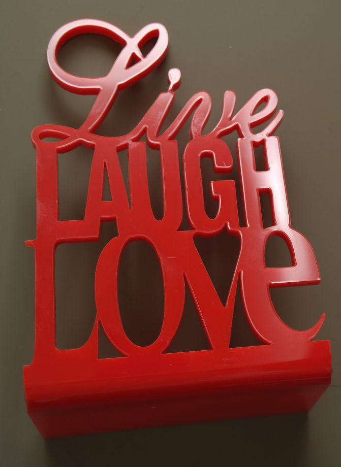 Chandelier Maison Live Love Laugh Kitap Desteği