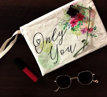 """only you"" clutch el çantası"