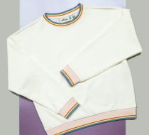 Rainbow Rib Sweatshirt