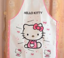 Hello Kitty PVC Önlük Beyaz