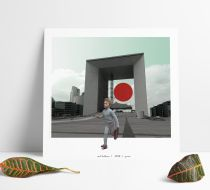 Red Balloon Poster 40*40 cm