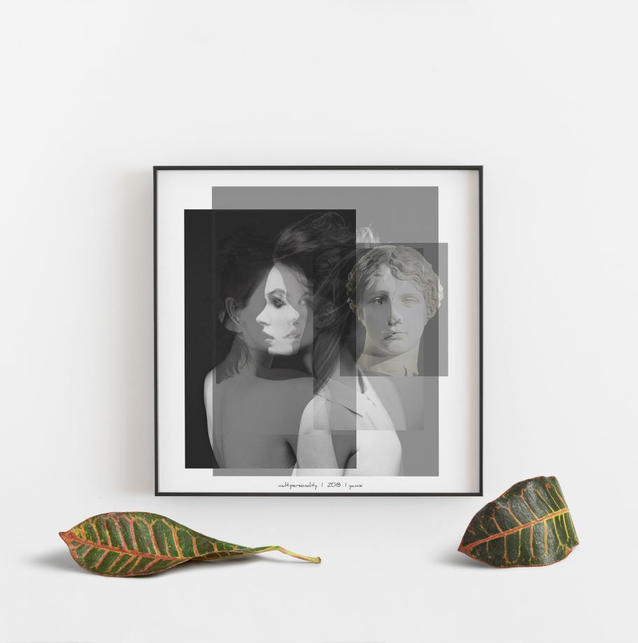Multipersonality Poster 30*30 cm