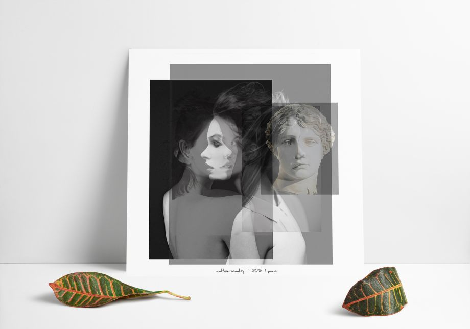 Multipersonality Poster 50*50 cm