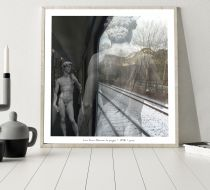 Train From Florance To Prague Poster 40*40 cm