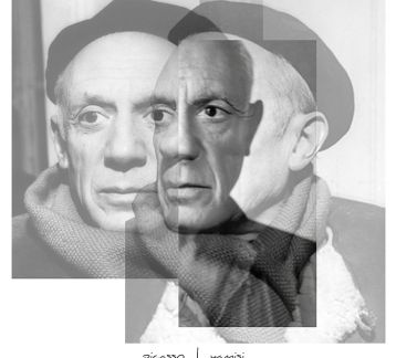 Picasso Poster 40*40 cm