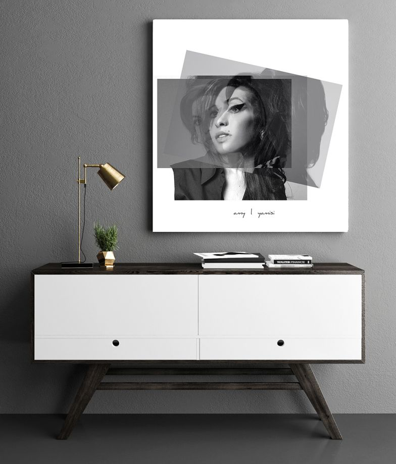 Amy Winehouse Poster  40*40 cm