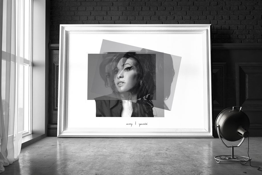Amy Winehouse Poster  50*50 cm