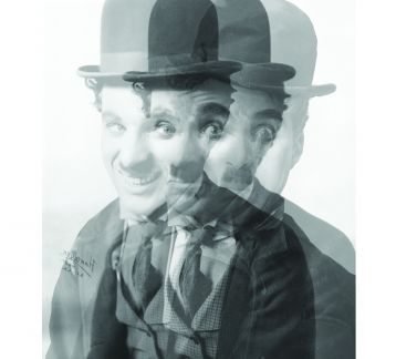 Charlie Chaplin Poster 40*40  cm