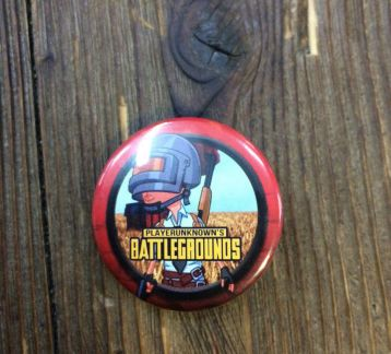 pubg button rozet