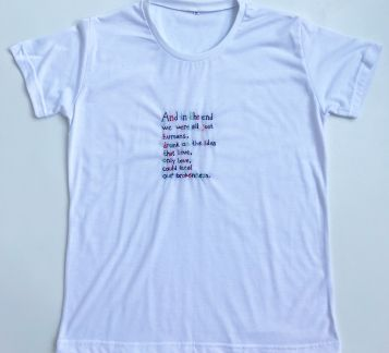 Nakışlı T-shirt And in the End