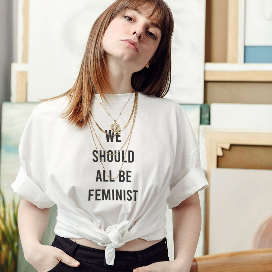 We Should All Be Feminist Slogan T-shirt