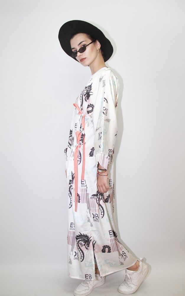 EIGHT DATE | DRAGON MILK KIMONO