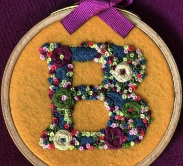 Embrodery Monogram B