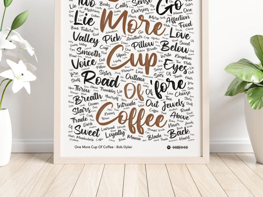Şarkı Poster - One More Cup Of Coffee