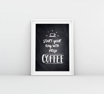 Fresh Coffee-Poster